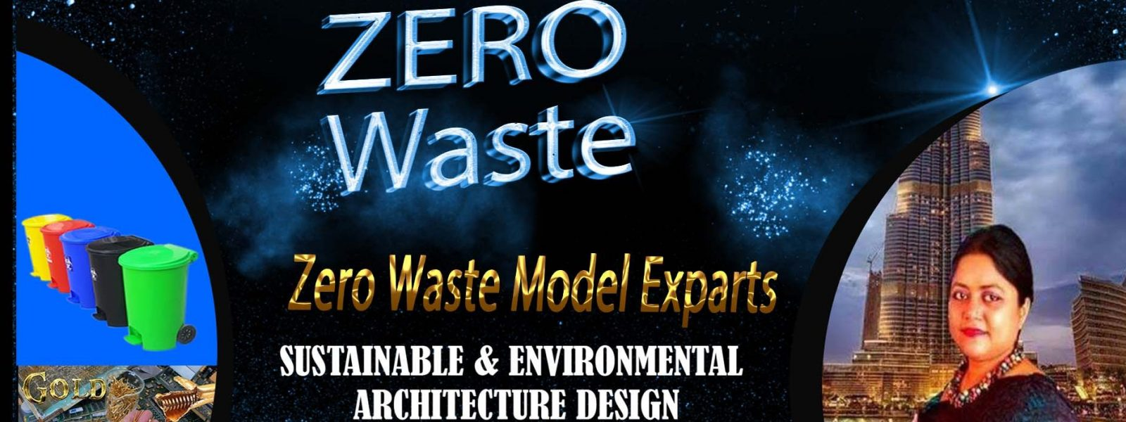 Architect Sumsun Sustainable architecture 2030. Clean City Green City . Zero waste Model